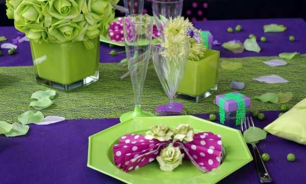 F te ci f te a articles pour mariages r ceptions la m zi re rennes lanester et guipavas - Decoration de table theme papillon ...